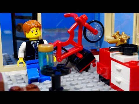 A Day in the Life of a Minifigure