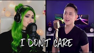 Ed Sheeran & Justin Bieber - I Don't Care (Jason Chen x Sup I'm Bianca)