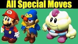 All Special Moves/Attacks in Super Mario RPG: Legend of the Seven Stars (Retro Montage)