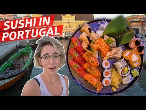What Does Sushi Taste Like in Aveiro, Portugal? — Travel, Eat, Repeat