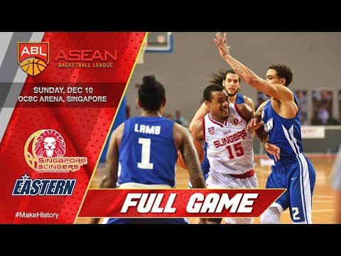 Singapore Slingers vs. Hong Kong Eastern | FULL GAME | 2017-2018 ASEAN Basketball League