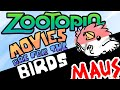 Zootopia and the careless allegory - Movies are for the birds