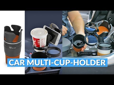 Car Multi-Cup-Holder Case