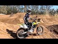 CRASHES Brand New Dirt Bike - Buttery Vlogs Ep36