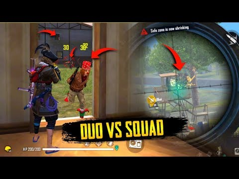 Duo vs Squad 23 Kills Total Rank Gameplay - Garena Free Fire