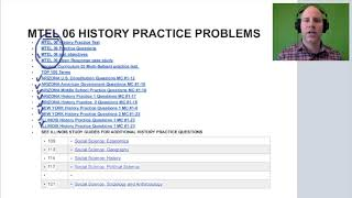 My GOHMULTI ~ HISTORY MTEL 06 Practice Tests & Study Material ~ GOHACADEMY.COM