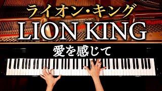 ライオン・キング - 愛を感じて - Lion King - Can You Feel The Love Tonight - ピアノカバー - piano cover - CANACANA