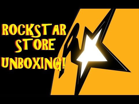 UNBOXING!Rockstar Games Warehouse(store)