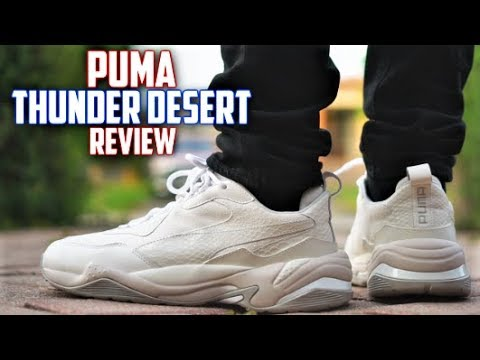 d49dc4da7974 Puma THUNDER DESERT Review! Best lowkey DAD SHOE  - YouTube