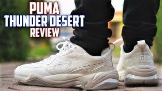 Puma THUNDER DESERT Review! Best lowkey