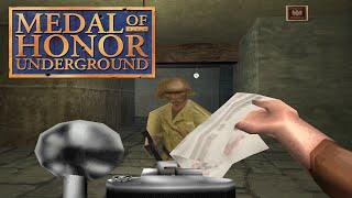 Обзор Medal of Honor Underground (Playstation 1) Вспомнить Всё №17