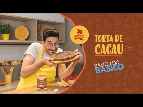 Torta de Cacau - Receitas Nestlé