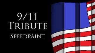 9/11 Trubute   Speedpaint