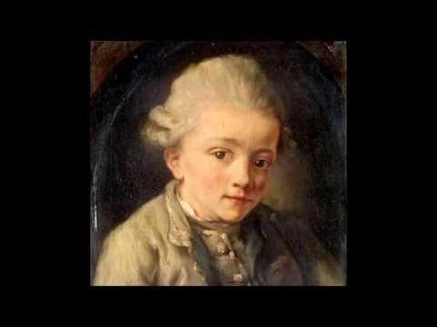 W. A. Mozart - KV 55 (C23.01) - Sonata for keyboard & violin in F major