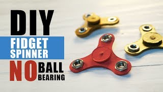 Mad Stuff With Rob - DIY Fidget Spinner Without Ball Bearings