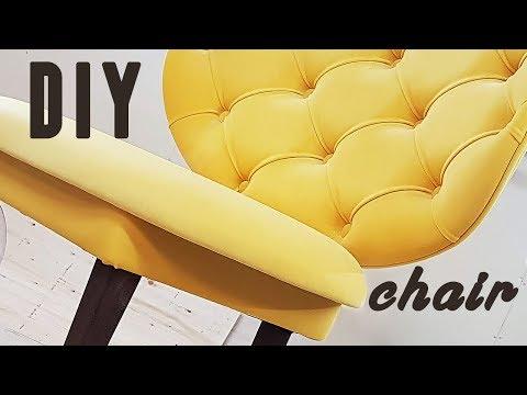 Процесс изготовления СТУЛА DIY мебель своими руками
