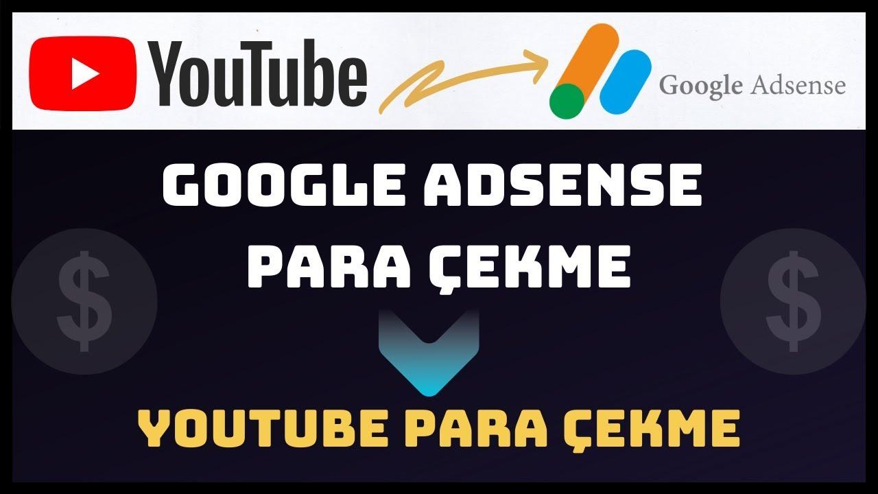 google adsense  para çekme