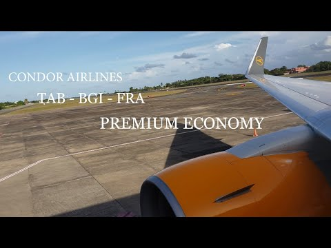 Condor Premium Economy Tobago To Frankfurt. (Disappointing)