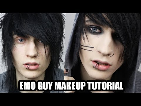 EMO/ALTERNATIVE GUY MAKEUP TUTORIAL