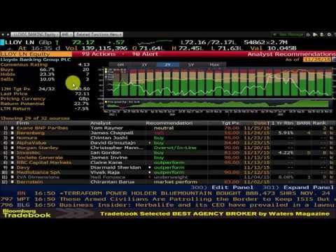How To Use Bloomberg