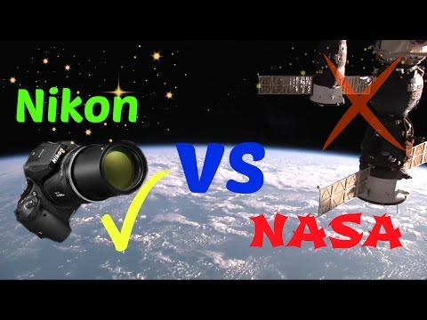 Nikon P900 satellite footage vs Nasa goes viral, Satellites are real!!!