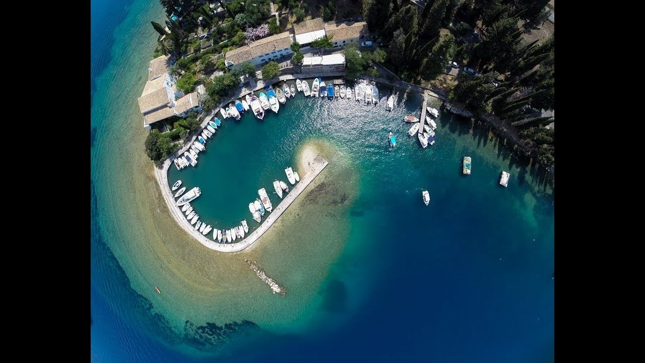 Discover Greece: Kouloura Bay, Corfu Island (Ionian Sea, western ...
