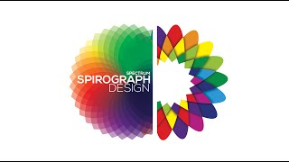 Spirograph Spectrum Design - Adobe Illustrator/Photoshop