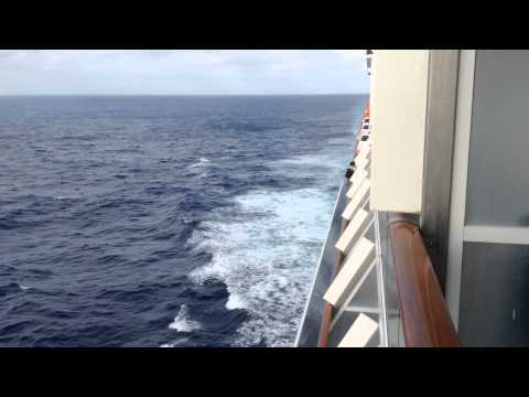 Carnival Spirit balcony room tour