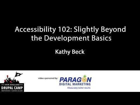 Accessibility 102: Slightly Beyond the Development Basics thumbnail