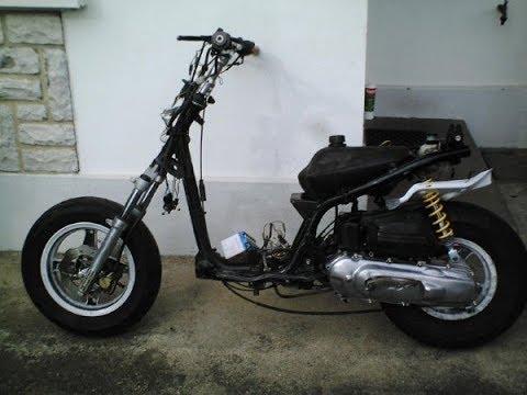 2 Pieces alu Poli Motodak Marche Pied Scooter tunr Adapt Booster//bws 2004
