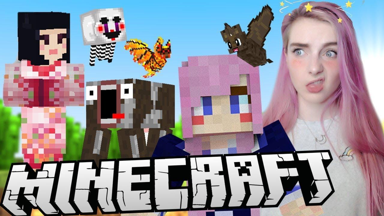 Crazy Custom Minecraft Mob Textures!