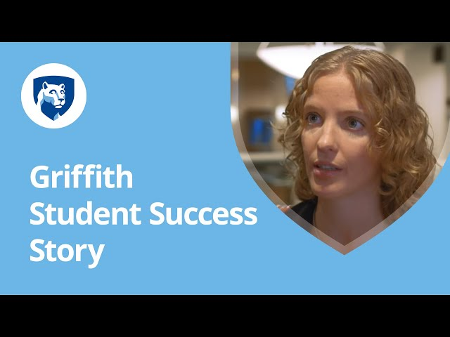 Watch Why I'm Earning My Degree Online with Penn State World Campus: Erin Griffith's Story on YouTube.