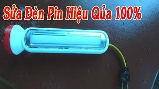 Chia Sẻ Sửa Đèn Pin Cầm Tay Sạc Không Vào Điện Thật Đơn Giản Hiệu Quả 100%  : 99 SÁNG TẠO