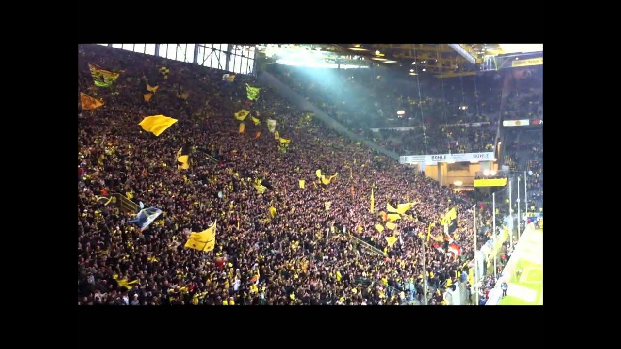 BVB - St. Pauli 23. Spieltag | Feiern mit der Mannschaft nach dem Spiel 2:0