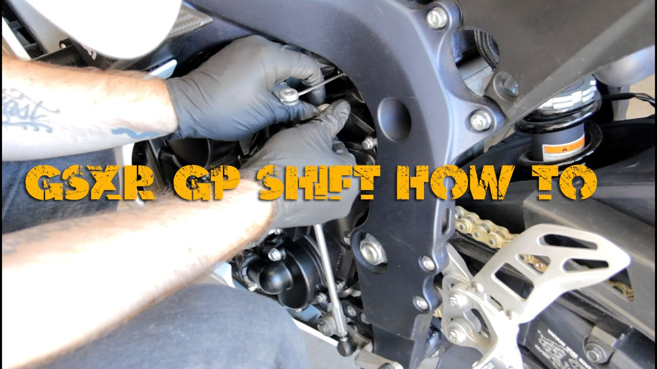 How To Coverting Your 2006 14 Gsx R 600 Gp Shift Youtube Wiring Diagram Suzuki Gsxr 1000