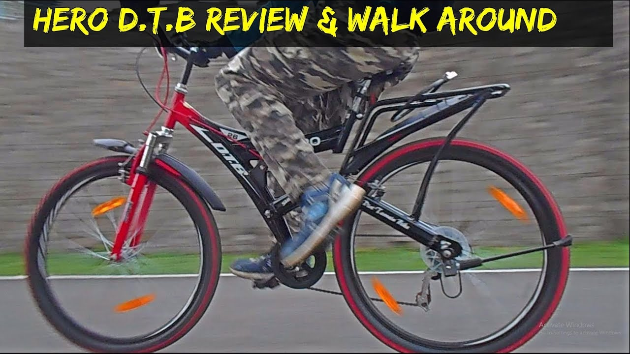 c76fbfcfa98 HERO DTB WALK AROUND AND REVIEW|BUDGET GEAR BICYCLE - YouTube