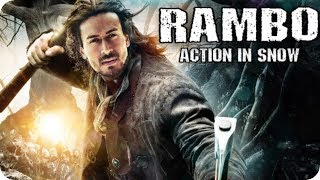 rambo Shooting Tiger Shroff Action in Snow Upcoming Movie 2020