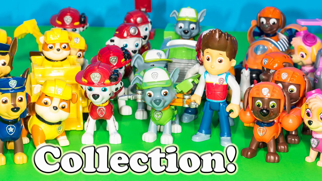 Where is the Engineering Family Paw Patrol Toy Collection