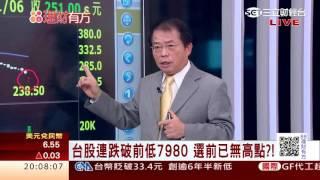 1050106 人民幣貶+北韓疑核試 亞股倒   三立財經台CH88   88理財有方   財經主播 王志郁