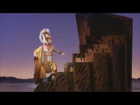 Fresh The Lion King Musical - Nick Afoa