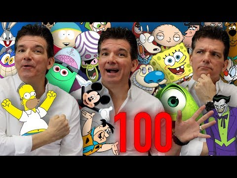 100+ Cartoon Impressions IN 5 MINUTES!