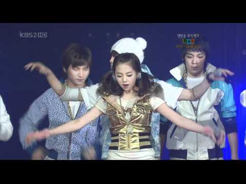 071228 - Bigbang & Wonder girls.Lie & Tell Me @ MB