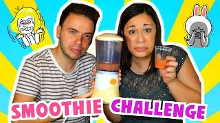smoothie challenge    la sfida dei frullati davvero orribile    iolanda sweets