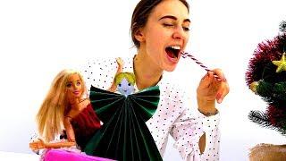 Ангелочек для куклы Барби. Новогодние поделки своими руками.