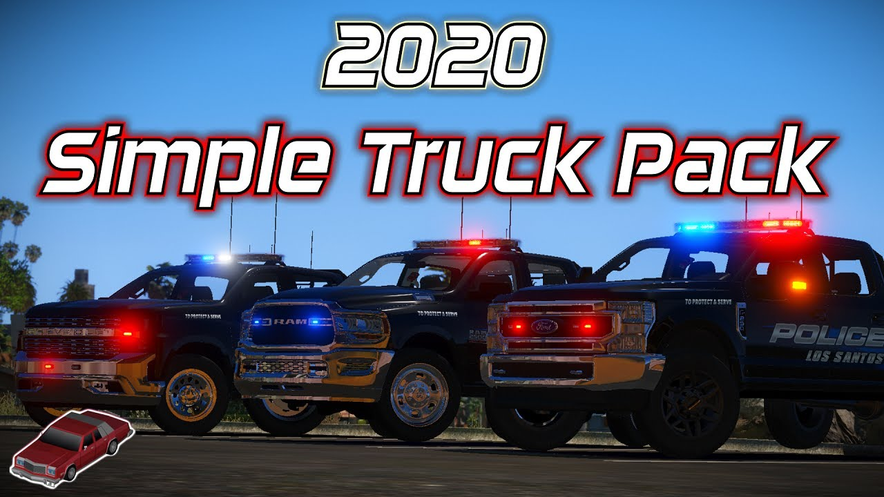 2020 Simple Truck Pack | Showcase | Model Made By: JackTheDev#3347