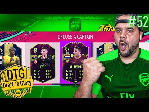 OMG I GOT 87 KLUIVERT AND 88 JOVIC FUTURE STARS IN A DRAFT! - FIFA 19 ULTIMATE TEAM DRAFT