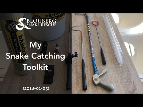 My Snake Catching Toolkit (20180105)