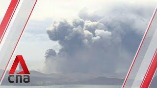 Philippines braces for explosive eruption of Taal volcano