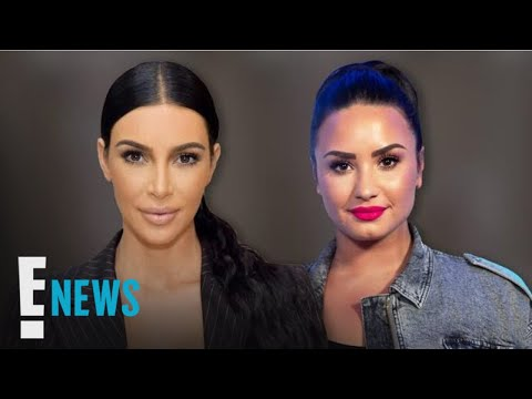Kim Kardashian Supports Demi Lovato After She Calls Out Fat-Shaming Ad | E! News Mp3