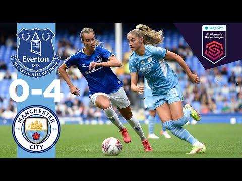MAN CITY HIGHLIGHTS    Everton v Man City    WSL 21/22 (Losada, Beckie, Bunny, Houghton)